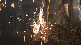 Tony Swatton fabrique des armes depuis plus de 30 ans