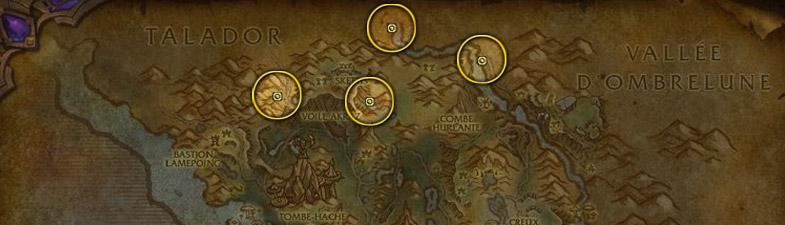 Etoile noire carte Flèches d'arak