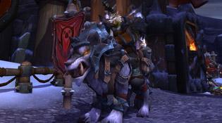 Kroggar et le Loup de guerre flanc-de-ferT