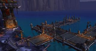 Le chantier naval de la Horde
