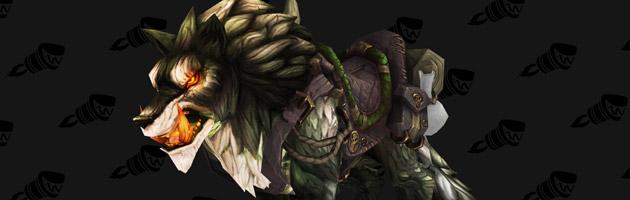 Nouvelle monture du patch 6.2 : l'Infernal Direwolf