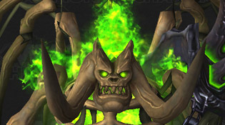 Mannoroth squelette - Citadelle des flammes infernales