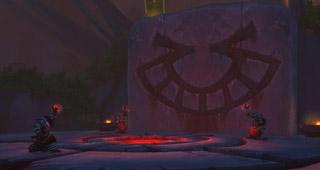 Un rituel au village de l'Orbite sanglante