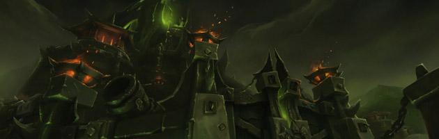 Écran de chargement du prochain raid de Warlords of Draenor
