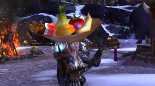 Portez votre chapeau de fruits hypnotisant