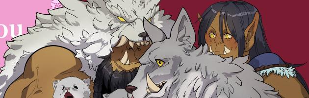 Moments de sérénité dans le Clan des loups de givre