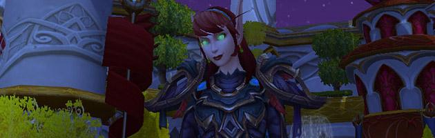 Un des nouveaux modèles Elfe de sang féminin au patch 6.1
