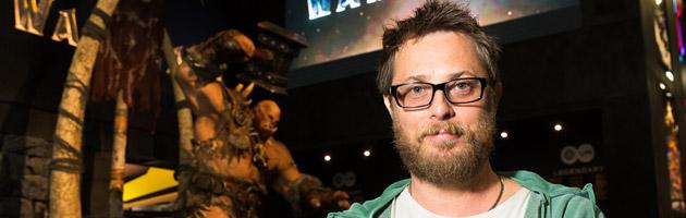 Duncan Jones au stand Warcraft de la Comic-con 2015