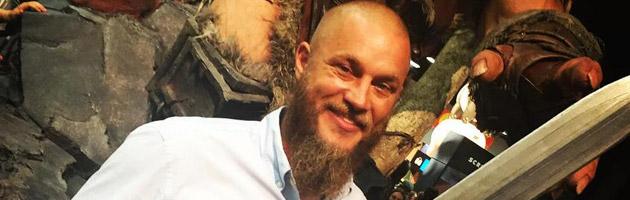 Travis Fimmel incarne Anduin Lothar dans le film