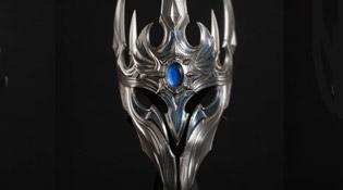 Heaume récompense de 20 ans chez Blizzard