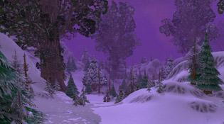 La nuit au Berceau-de-l'hiver actuellement