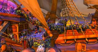 La bateau le plus bondé d'Azeroth (@AzorKill)
