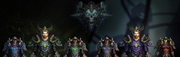 Ensembles d'armures T18 et Saison 2 Warlords du Chevalier de la mort
