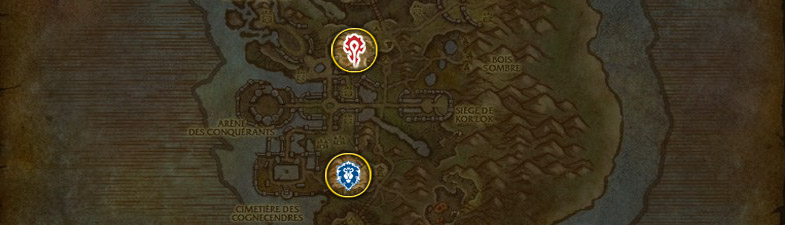 Les familiers pour Chasseur à A'shran patch 6.2 de World of Warcraft