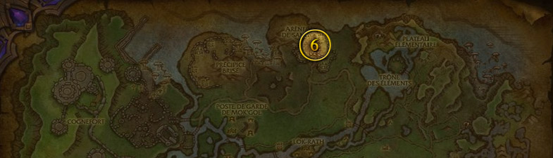 Les familiers pour Chasseur à Nagrand Draenor patch 6.2 de World of Warcraft