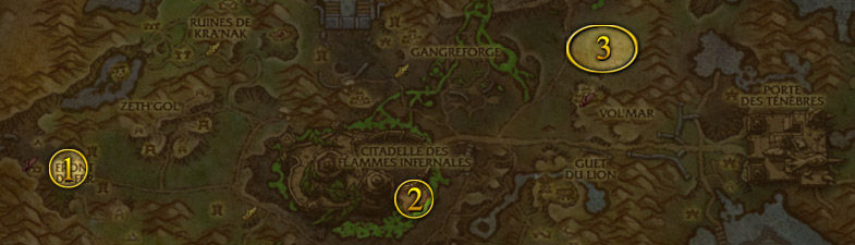 Les familiers pour Chasseur dans jungle de Tanaan patch 6.2 de World of Warcraft
