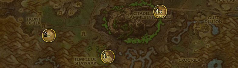 Élites rares de la jungle de Tanaan - Fléau infernal