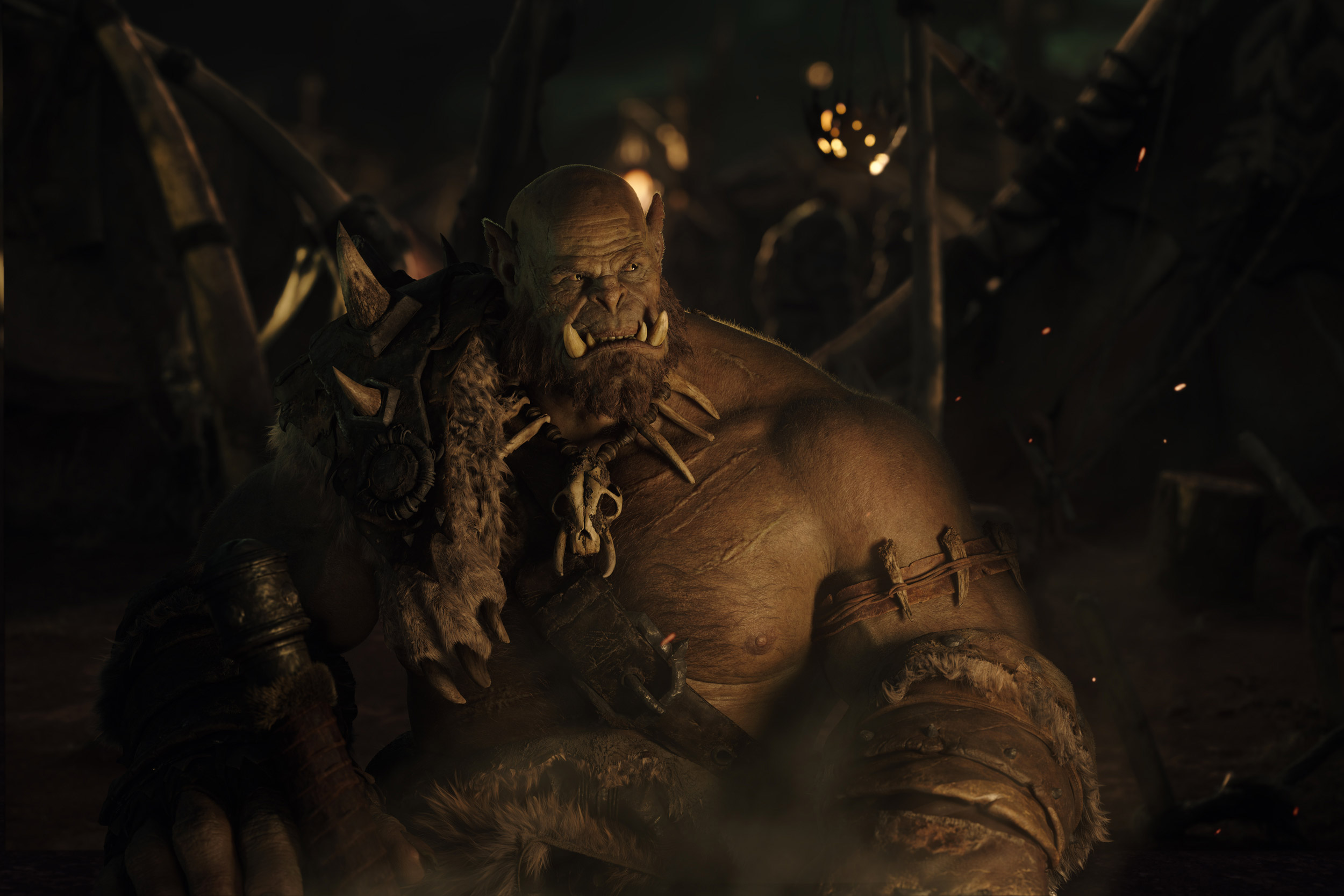 Version haute définition d'Orgrim (film Warcraft)