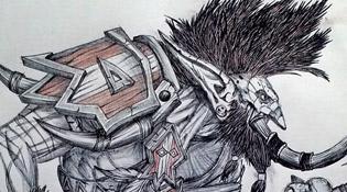 Vol'jin, le chef de Guerre de la Horde