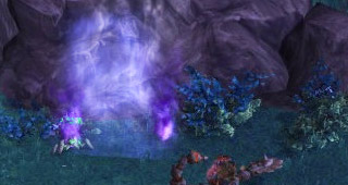 L'aspect d'un portail d'Étoile noire