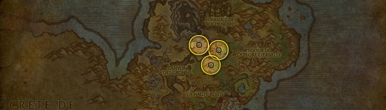 Etoile noire carte Gorgrond