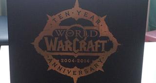 La boîte de la Statue 10 ans WoW