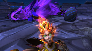 Deatheart pose le temps d'un selfie