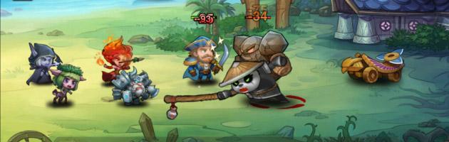 Soul Clash est une parfaite copie des personnages de World of Warcraft