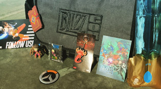 Le goodie bag de la Blizzcon 2015