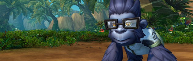 La mascotte Bébé Winston dans World of Warcraft