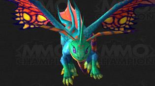 Modèle de dragon féerique