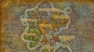 Carte des Îles brisées