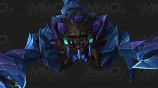 Modèle Scorpion de cristal