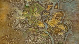 Carte de Stormheim