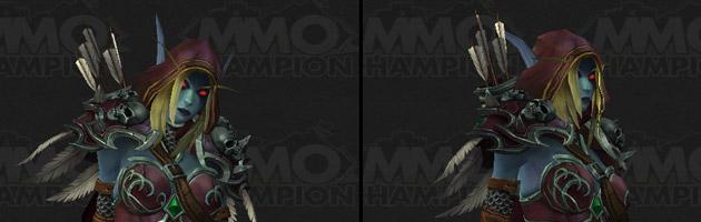 Sylvanas arbore un nouveau modèle pour Legion