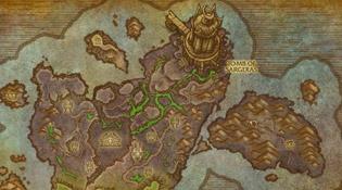 Carte du Tombeau de Sargeras