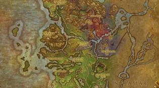 Carte de Val'Sharah