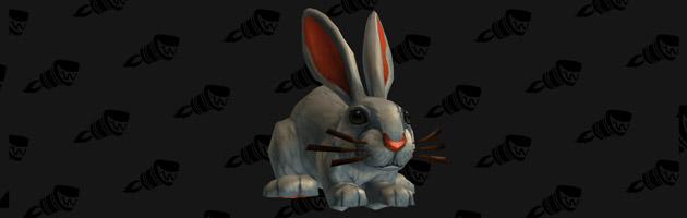 Mascotte de l'extension Dust bunny Apparition