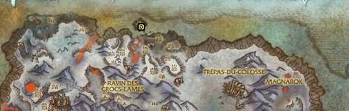 Se récupère sur Tor'goroth dans la Crête de Givrefeu