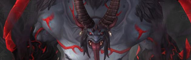 Nouveau modèle de Xavius dans Legion
