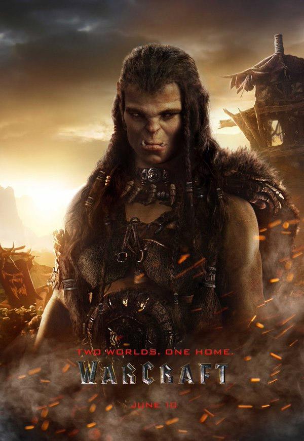 Warcraft le film : affiche de Draka