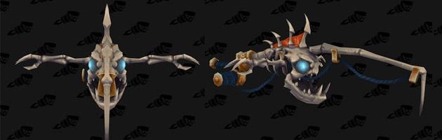 Canne à pêche arme prodigieuse à Legion