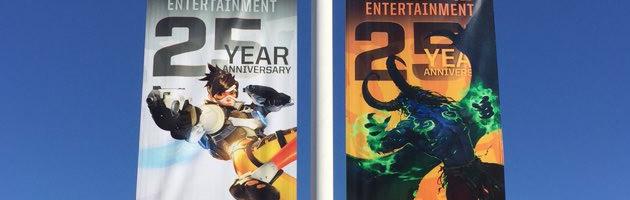 Le 25ème anniversaire de Blizzard à Irvine