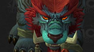 Forme Druide Troll
