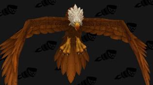 Modèle d'aigle royal