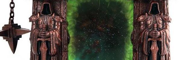 Produit cadre photo - Porte des ténèbres World of Warcraft