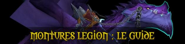 Montures Legion WoW