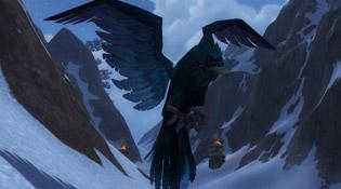 Modèle de corbeau à Legion