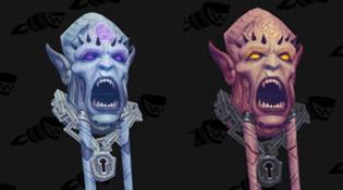 Arme prodigieuse Skull of Eredar - Démoniste Démonologie