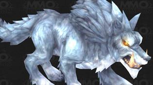 Modèle de loup-de-givre de Draenor